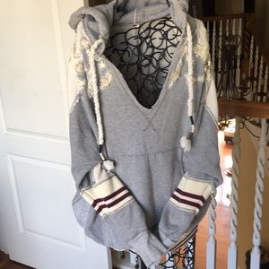 Rare adorable free people hoodie